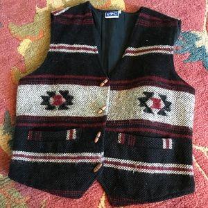 Tops - Vintage Wool Vest